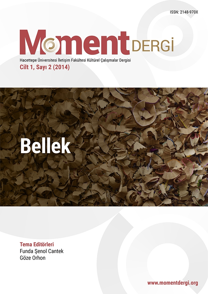 Moment Dergi 2. Sayı: Bellek