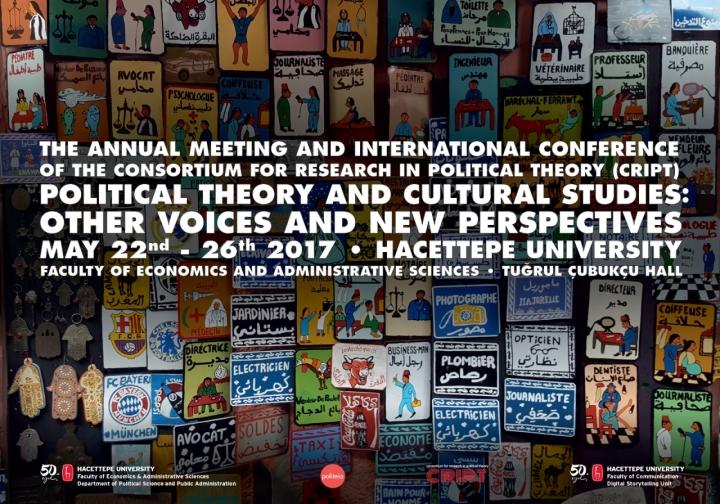 Politika Teorisi Araştırmaları Konsorsiyumu Yıllık Toplantısı ve Uluslararası Konferansı Görsel Materyallerinin Tasarımı