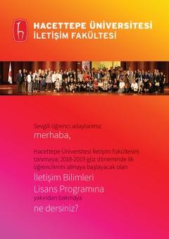 İletişim Bilimleri Lisans Programı Broşürü